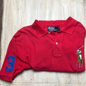 Men's Polo red size L